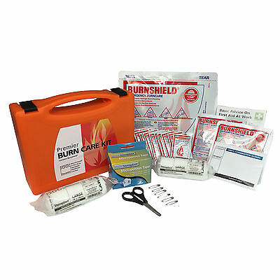 Steroplast Premier Burnshield Compact All In One Sun Burn Scald Care First Kit