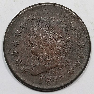 1814 s-295 Classic Head Large Cent Coin 1c