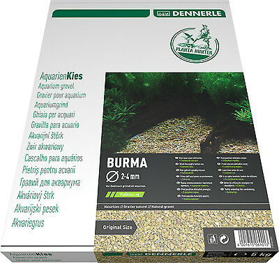 Dennerle Plantahunter Natural Aquascaping Gravel Burma 12-15mm NEW 5kg