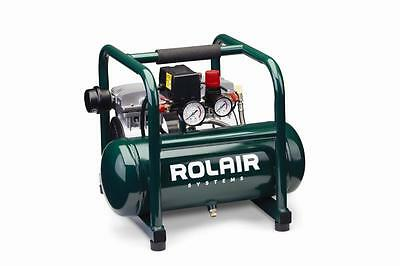 Rol-Air JC10 1 HP Ultra Quiet Oil-Less Compressor
