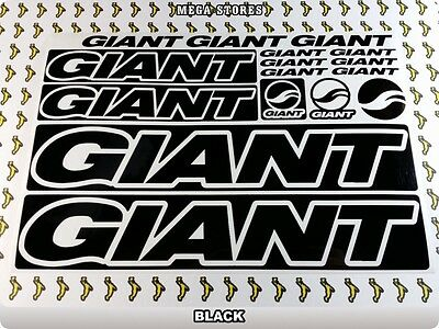 GIANT Stickers Decals Bicycles Bikes Cycles Frames Forks Mountain MTB BMX 56V