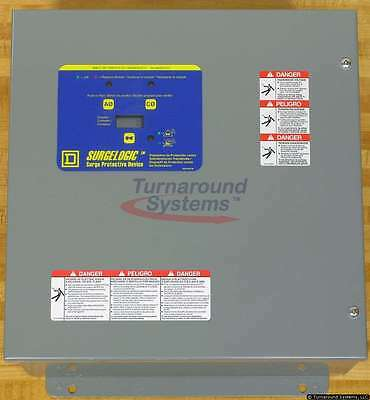 Square D TVS1EMA12A Surge Protection With Counter, Single Phase, NEW