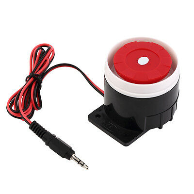Wired Mini Horn Siren Home Security Sound Alarm System 120dB DC 12V New QR