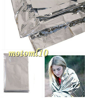 Outdoor Emergency Tent Blanket Survival Reflective Shelter Camping Waterproof Mo