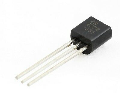 25pcs 2N2222 2N2222A NPN Transistor TO-92 USA Seller
