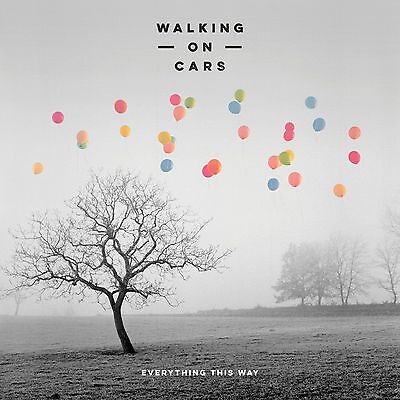 WALKING ON CARS EVERYTHING THIS WAY CD released 2016 New Irish Band FREE P&P UK