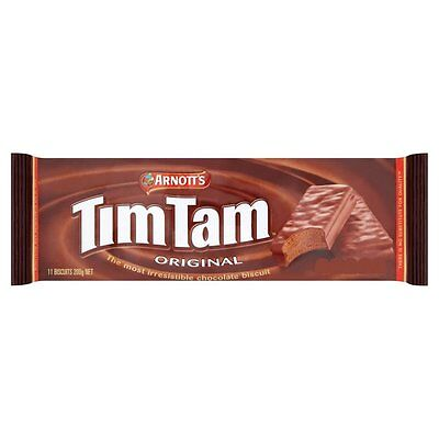 TIM TAM ORIGINAL CHOCOLATE BISCUITS 200g