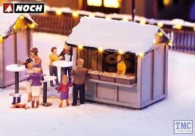 N65610 Noch HO/OO Gauge At the Christmas Market Themed Set