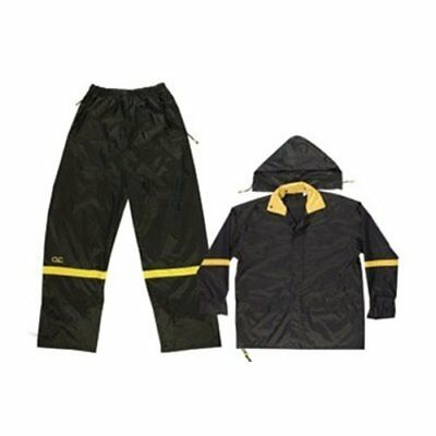 Custom LeatherCraft R1033X 3-Piece 0.18mm Nylon Rain Suit (X2X-Large)