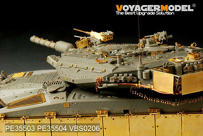 VOYAGER VBS0206 1/35 WWII Modern Merkava Mk.3 MBT Machine Gun (For all)