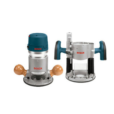 Bosch 1617EVSPK 2-1/4 HP Combination Plunge & Fixed-Base Router Back