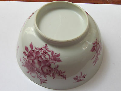 Chinese Porcelain Purple Famille Rose Decor Bowl Kangxi Period
