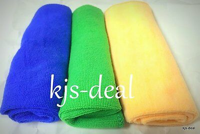 Large Microfibre Cleaning Auto Car Detailing Cloths Wash Towel Duster
