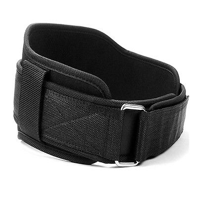 Neoprene WeightLifting Protection Gym Fitness Back Support Training Belt