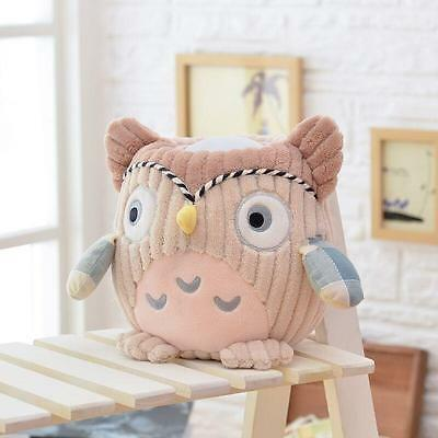 NEW Hugglo Plush Night Light - Owl - Childrens Plush Toy with Removable Lamp
