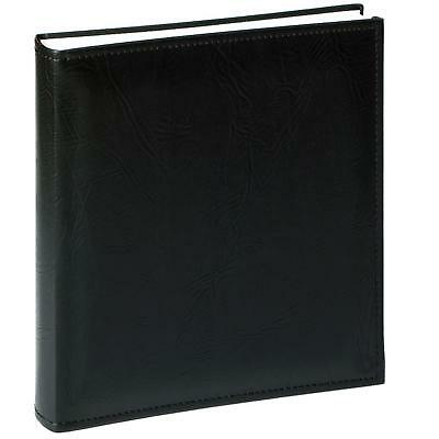 Walther Premium Extra Large Black Traditional Photo Album - 80 Sides