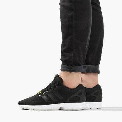 Chaussures adidas ZX Flux M19840 Black1White Sneakers