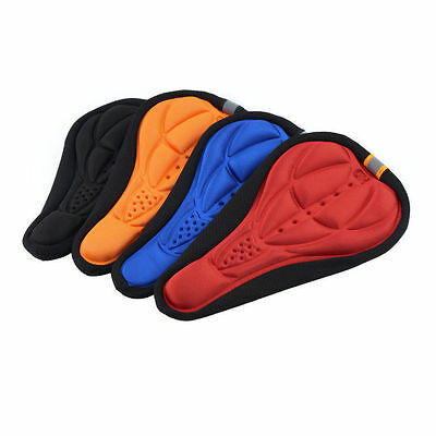 Thick Cycling Bicycle Gel Pad Seat Saddle Cover Soft Bike  Pad ID