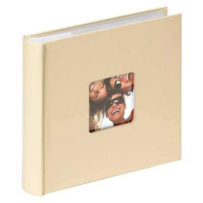 Walther Fun Cream 6x4 Slip In Photo Album - 200 Photos
