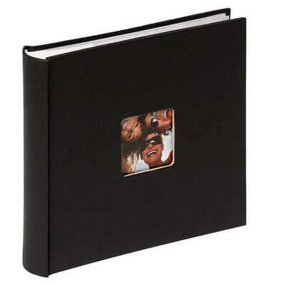 Walther Fun Black 6x4 Slip In Photo Album - 200 Photos