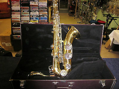 YAMAHA YTS-23 Tenor Sax, Saxophone with Hard Case and Mouthpiece