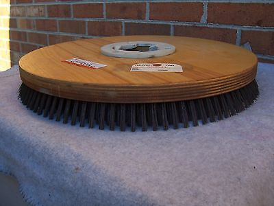 "Clarke 20"" Wire Scrub/strip Concrete Brush Part #480924 Fits Many Other Machines"