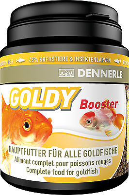 Dennerle Premium Fish Food: Goldy Booster 200ml for Goldfish