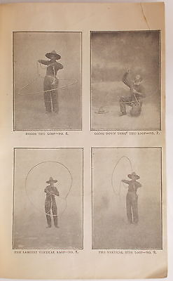 1898 TRUE LIFE IN THE OLD WEST Stanley Clark CALAMITY JANE How the Lasso is Used