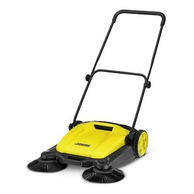 "Karcher 1.766-303.0 S650 Outdoor Manual Sweeper 21"" With Dual Side Brooms"