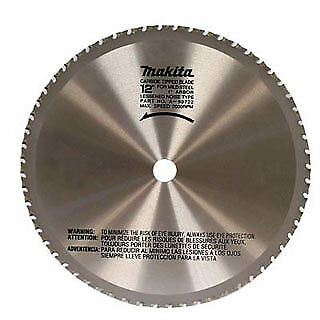 """Makita A-90532 12"""" Carbide Tipped Saw Blade for Mild Steel Cutting"""