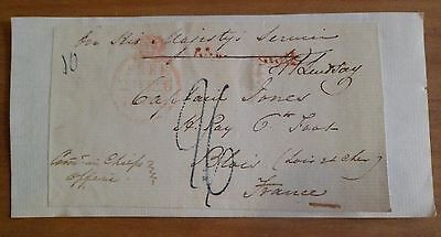 CAPT.JONES WARWICKSHIRE REGIMENT 6th FOOT 19th CENTURY FREE FRONT OHMS FRANCE*