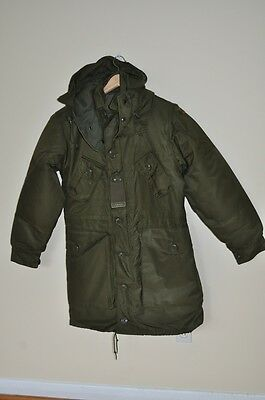 Canadian Army Extreme Cold Parka 3 Piece Full Set Arctic Size 7 Small Long NEW