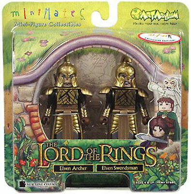The Lord of the Rings Minimates 2 Pack Elven Archer and Elven Swordsman NEW Toys