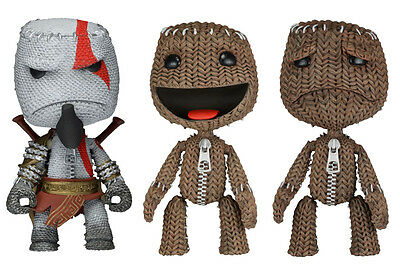 Little Big Planet Figuras Sackboy Kratos 13 cm Serie 1 Surtido