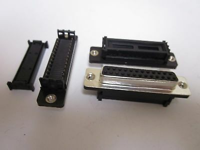25 Pin Double Row Female IDC Connector - LOT of 50