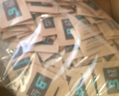 4 Large 60 Gram Sealed Bags Boveda 62% RH 2-Way Humidity Control