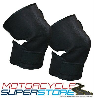 Neoprene Knee Warmers Cold Weather Protectors Motorcycle Scooter Cycle Bicycle