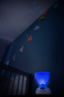 Nursery Mobile Musical Night Light Show Starry Sky/Character Projector 9 Sounds