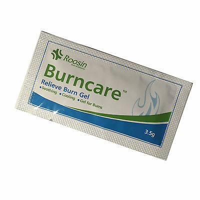 Burncare Emergency First Aid Burn Care Scalds Cooling Soothing Gel Sachets 3.5Ml