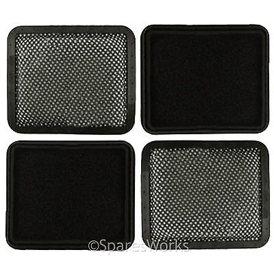 4 x Washable Padded Filters for GTECH AR01 AR02 DM001 AirRam Vacuum Hoover