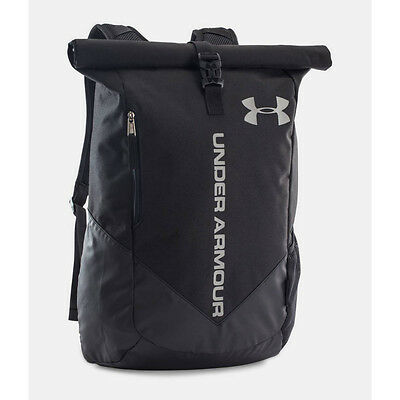 UNDER ARMOUR NEW Sackpack Bag Black Storm Roll Trance BNWT