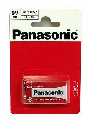 1 Pc (1 Pc X 1 Card) Pp3 Panasonic 9V Zinc Carbon Battery