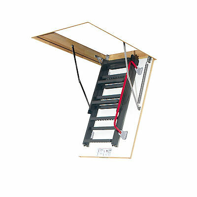 Attic steps LMK / Attic stairs with Metal head and Handrail / Many Sizes