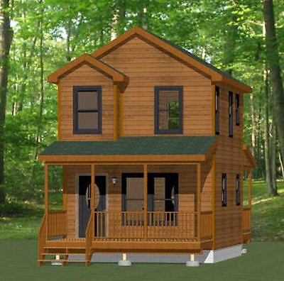 Building plans blueprints building hardware home for 14x14 cabin with loft