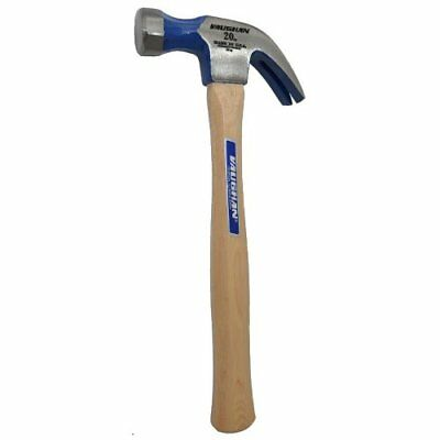 "Vaughan DO20 20 oz. Full Octagon Curved Claw Hammer (14"" Hickory Handle)"