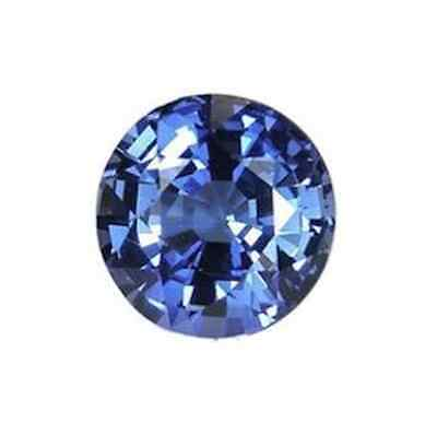 IF ROUND (1mm - 15mm) RUSSIAN SIMULATED LAB DIAMOND BLUE SAPPHIRE LOOSE STONES