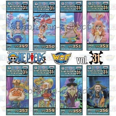 ONE PIECE WCF World Collectable Figure  vol.31 Fishman Island Complete set