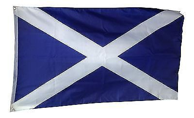 Scotland Saltire Giant Flag 8ft x 5ft / 2.5m x 1.5m 100% Polyester with Eyelets