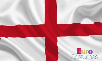 England St George Giant Flag 8ft x 5ft / 2.5m x 1.5m Polyester with Eyelets