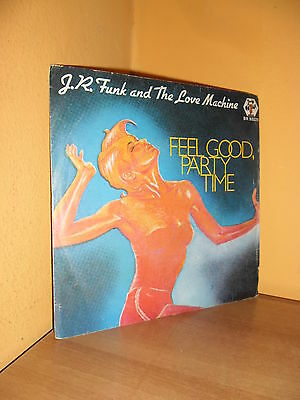 "J.R. FUNK AND THE LOVE MACHINE - FEEL GOOD -7""-45 GIRI (Baby Records) - VINILE"